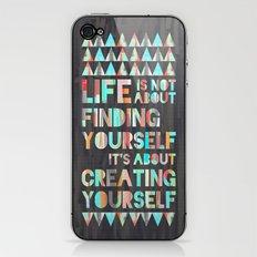 Create Yourself iPhone & iPod Skin