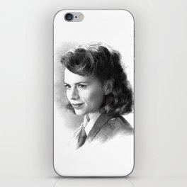 Peggy iPhone Skin