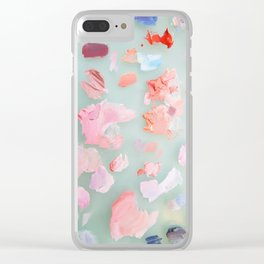 Oil palette #2 Clear iPhone Case