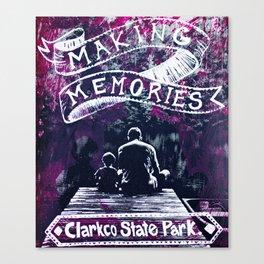 Making Memories Canvas Print