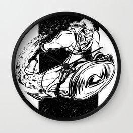 Earthworn Jim Wall Clock