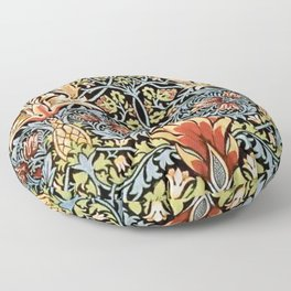Snakeshead William Morris Pattern Floor Pillow