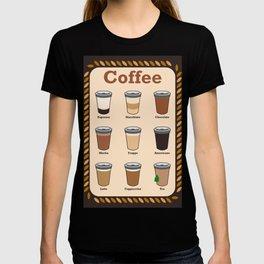 Coffee - How do you like it? T-shirt