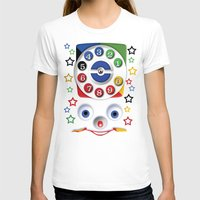cartoons T-shirts featuring Retro Vintage smiley kids Toys Dial Phone iPhone 4 4s 5 5s 5c, ipod, ipad, pillow case and tshirt by Three Second
