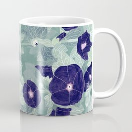 Dark florals Coffee Mug