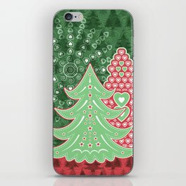 Xmastrees_04a iPhone Skin