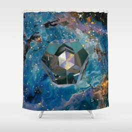 Dodecahedron Shower Curtain