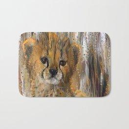 You're a Cheetah, But I Love You Baby Bath Mat