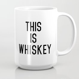 THIS IS WHISKEY (INVERTED) Mug
