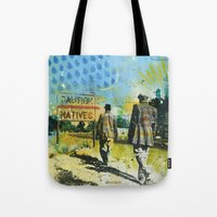 native Tote Bags featuring Native by MATEO