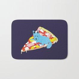 Pizza Dog Bath Mat