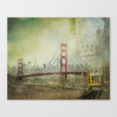Suspended Canvas Print