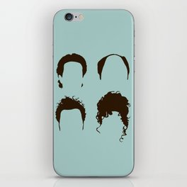Seinfeld Hair Square iPhone Skin