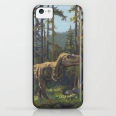 HUNT, T.rex dinosaur painting by Frank-Joseph Slim Case iPhone 5c