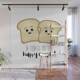 A Toast To The Happy Couple! Wall Mural