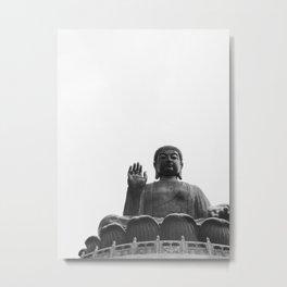 Tian Tan Buddha, Hong Kong Metal Print