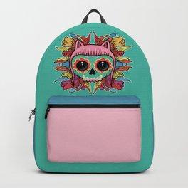 Cute Skull Kitten Backpack