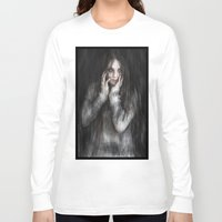 vampire diaries Long Sleeve T-shirts featuring Vampire by Justin Gedak