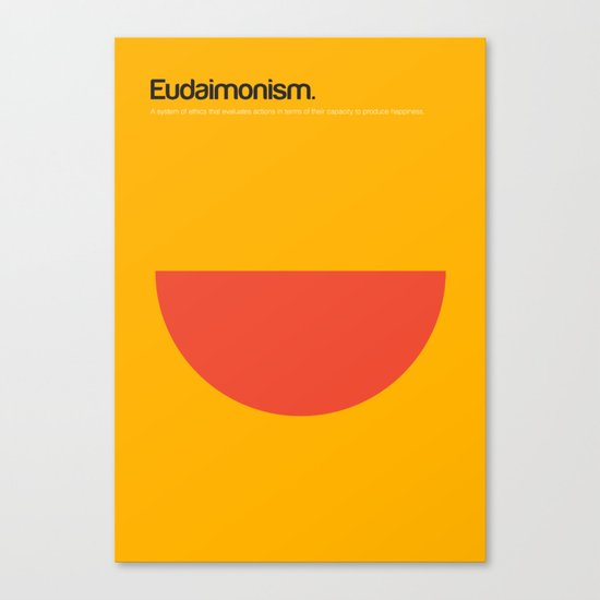 Eudaimonism Canvas Print