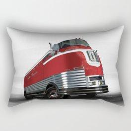 The 1940 GM Futureliner Rectangular Pillow