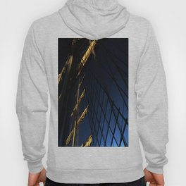 Flags And Ropes In The Night Hoody