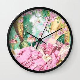 Marie Antoinette Garden Party Wall Clock