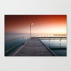Summers Night Canvas Print
