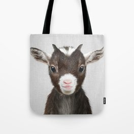 Baby Goat - Colorful Tote Bag