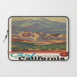 Vintage poster - California Laptop Sleeve