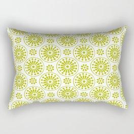 Retro Flower Rectangular Pillow