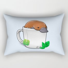 Pla-TEA-pus Rectangular Pillow