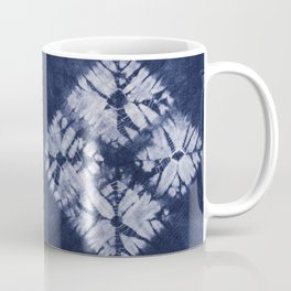 Denim Tie Dye Coffee Mug