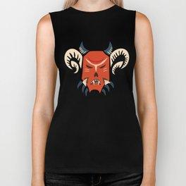 Kuker Evil Monster Mask Biker Tank