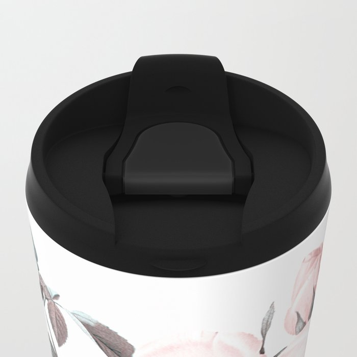 Rose Metal Travel Mug