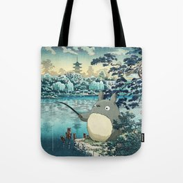 Japanese woodblock mashup Tote Bag