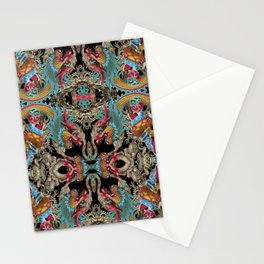 enter the dragon Stationery Cards