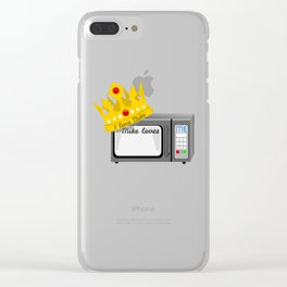 Microwave Love Clear iPhone Case