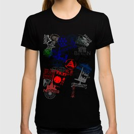 World City Traveling Stamps T-shirt
