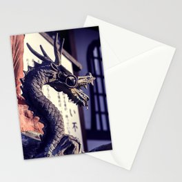 Dragon in a temple Stationery Cards