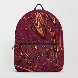Purple and Gold Imagination Backpack