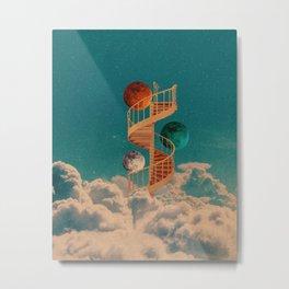 Stairway to the moon Metal Print