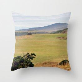 Pacific Dunes Throw Pillow