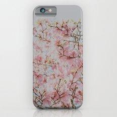 Pink Magnolias iPhone 6s Slim Case
