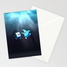 SpongeFinn AdventurePants Stationery Cards