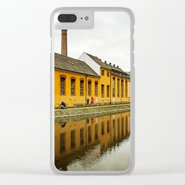 Motorcycle Reflection Clear iPhone Case