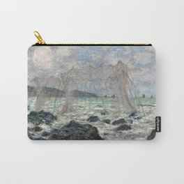 Claude Monet Fishing nets at Pourville Carry-All Pouch