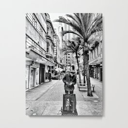 Mean Streets of Auckland, New Zealand Metal Print