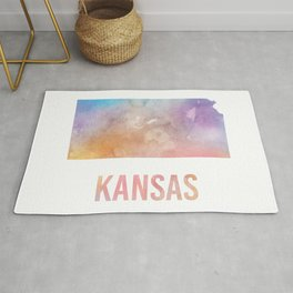Watercolor State - KS Rug