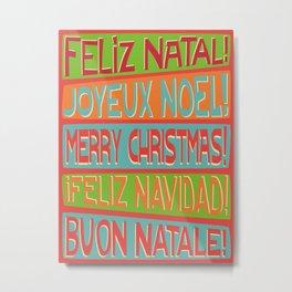 Christmas I Metal Print