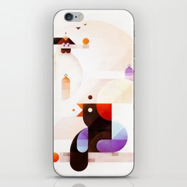 Bubble dreamers iPhone Skin
